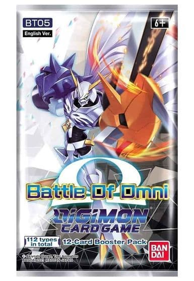 Let's Play Games Digimon Card Game Series 05 Battle of Omni BT05 Booster