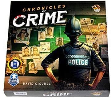 Lucky Duck Games LKY035 Chronicles of Crime