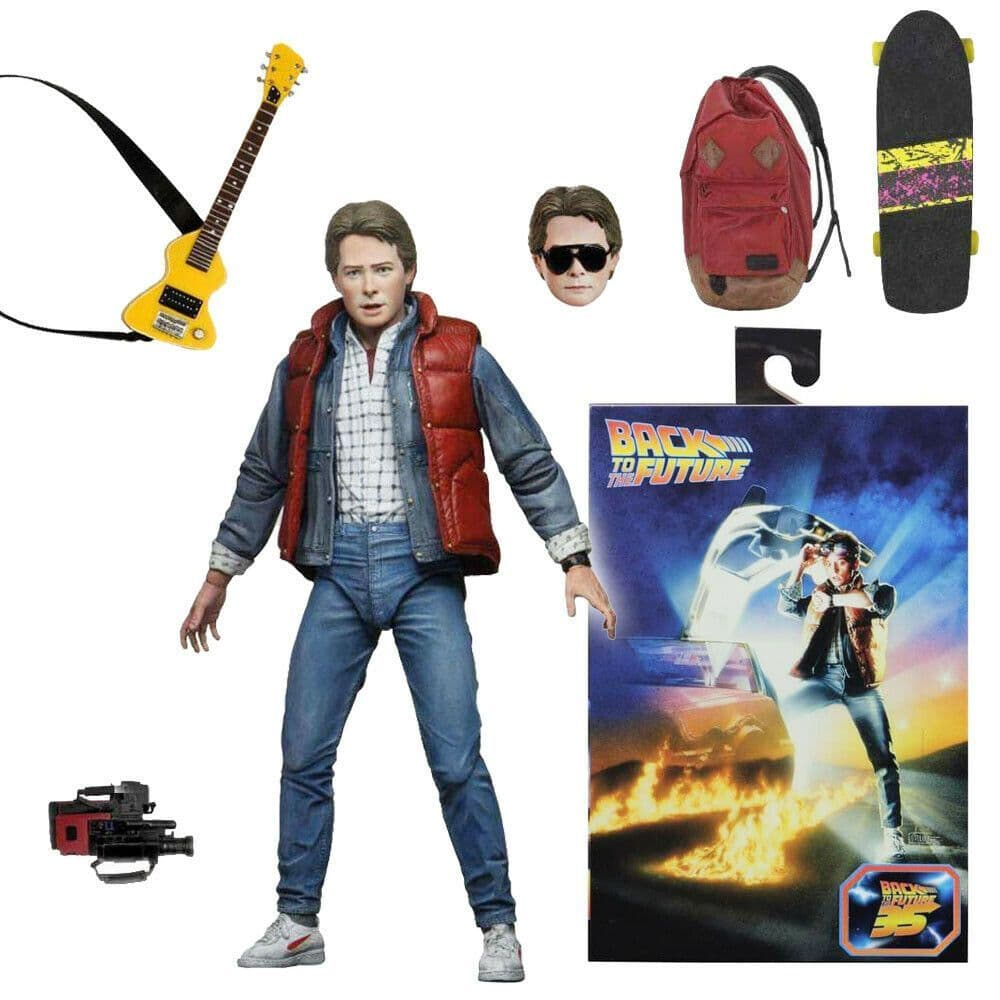 "NECA Back to the Future Marty McFly Ultimate 7"" Action Figure"