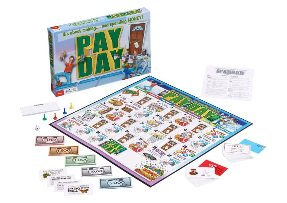 PAY DAY Board Game by Winning Moves