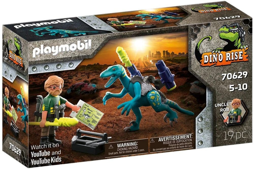 Playmobil Dino Rise 70629 Deinonychus: Ready for Battle, Ages 5+