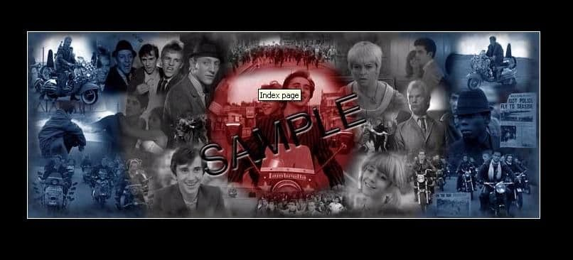 Quadrophenia Convention 2008 Limited Edition Print - Signed by guests plus Leslie Ash