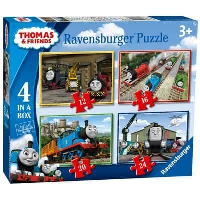 RAVENSBURGER 06937  Thomas And Friends 4 In A Box Puzzles
