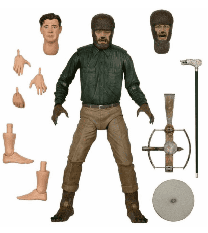 UNIVERSAL MONSTERS WOLF MAN ULTIMATE 7 INCH SCALE ACTION FIGURE