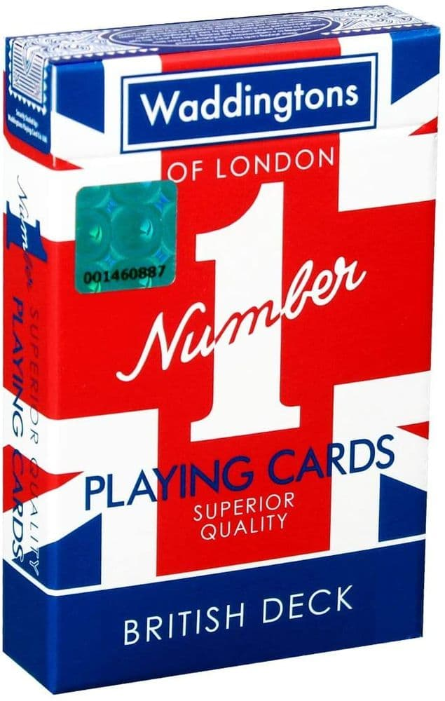 Waddingtons Union Jack Number 1 Playing Cards