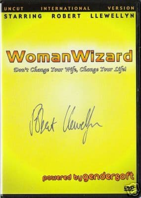 WOMAN WIZARD DVD - Signed by Robert Llewellyn