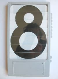 Replacement number units.