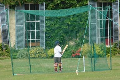 Roofed 2.7m Outdoor Cricket Nets