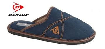 DUNLOP ANDREW faux suede Mule Slippers