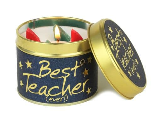 Lily-Flame candle - Best Teacher (Ever!)