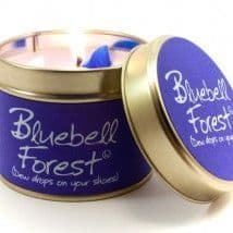 Lily-Flame candle - Bluebell Forest