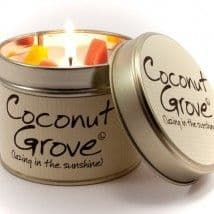 Lily-Flame Candles - Coconut Grove