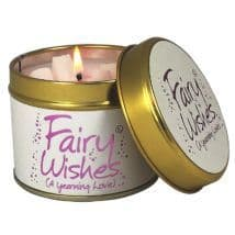 Lily-Flame candle- Fairy Wishes