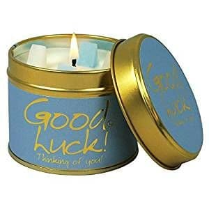 Lily-Flame candle - Good Luck!