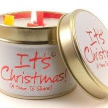 Lily-Flame candle - It's Christmas