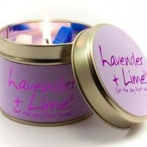 Lily-Flame Candles - Lavender and Lime