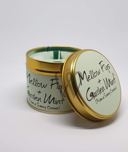 Lily-Flame candle- Mellow Figs & Garden Mint
