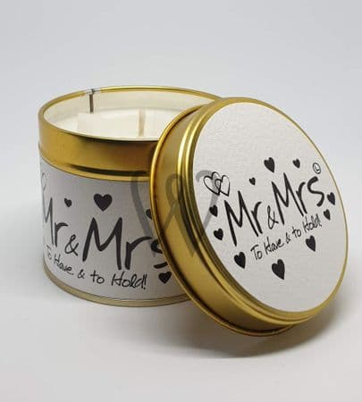 Lily-Flame candle - Mr & Mrs