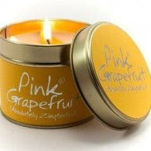 Lily-flame Candles - Pink Grapefruit
