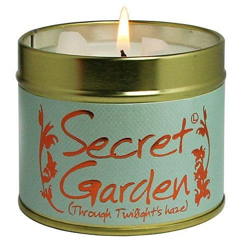 Lily-Flame candle- Secret Garden