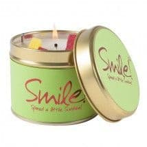 Lily-Flame candle- SMILE!