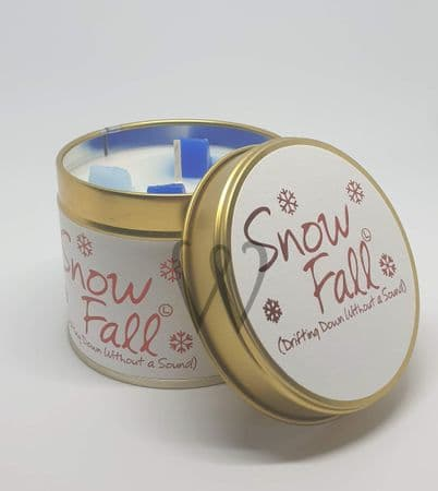 Lily-Flame candle - Snowfall