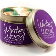 Lily-Flame candle - Winter Wood