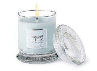 Lily-Flame Glass Jar - Exquisite