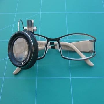 Eye Glass Clips Over Spectacle Frame 10x Magnification