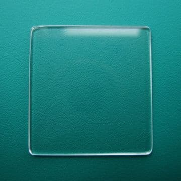 Generic Cartier Mineral Flat TV Watch Glass 22.00mm x 21.00mm - 0.9mm Thickness