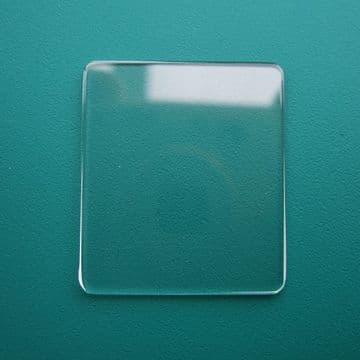 Generic Cartier Mineral Flat TV Watch Glass 23.50mm x 23.50mm - 1.0mm Thickness