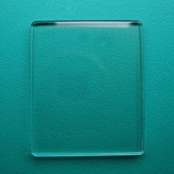 Generic Cartier Mineral Flat TV Watch Glass 24.50mm x 20.00mm - 1.4mm Thickness