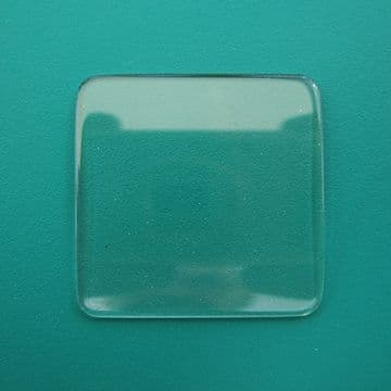 Generic Patek Philippe Single Curve Mineral TV Watch Glass 24.00 x 24.00 - 1.00 to 2.00mm Thickness