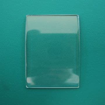 Generic Patek Philippe Single Curve Mineral TV Watch Glass 28.75 x 18.90 - 1.20 to 2.20mm Thickness