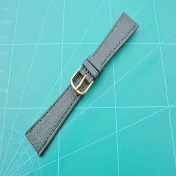 Green Genuine Leather Watch Straps Sizes 12mm up to 20mm