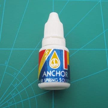 Hairspring Cleaning Solution 20ml Bottle Anchor Brand