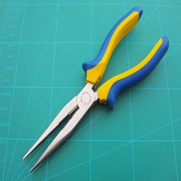 Long Nosed Pliers Heavy Duty  200mm Drop Forged