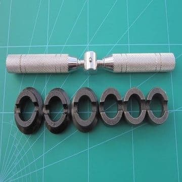 Rolex Watch Case Opening Tool With 6 Die Sizes