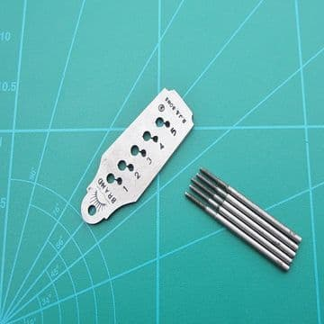 Taps and Dies Imperial 1- 5 Set of 5